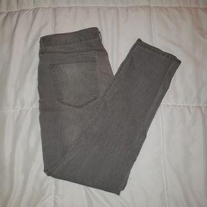 Old Navy Curvy Gray Jeans 12 Regular